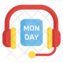 Cyber Monday Call Center Cyber Services Icon