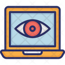 Cyber Monitoring Monitoring Eye Web Cyber Monitoring Icon