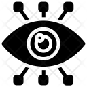 Mechanical Eye Cyber Icon