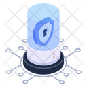 Cyber Network Icon
