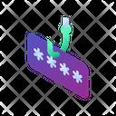 Cyber Phishing Password Hack Password Cyber Icon
