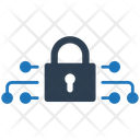 Cyber Lock Network Security Security Icon