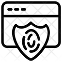 Cyber Security Cyber Monitoring Cybernetics Icon