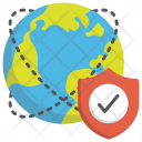 Cyber Security Network Icon
