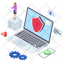 Cyber Security Cyber Protection Login Security Icon