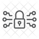 Cyber Security Technology Icon
