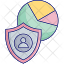 Cybersecurity Data Management Data Security Icon