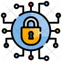 Cyber Internet Security Icon