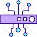 Cyber Security Chip Icon