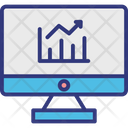 Cyber statistics Icon