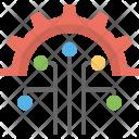Cyber Technology Internet Icon