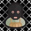 Cyber Terrorist Terrorist Cybercriminal Icon