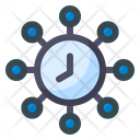 Cyber Time Icon