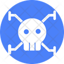Cyber Virus Internet Virus Network Antivirus Icon