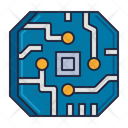 Cybernetics Cybernetics Chip Chip Icon