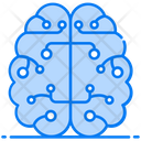 Cybernetics Cyber Intelligence Cyber Technology Icon
