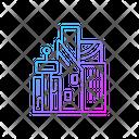 Cyberpunk City City District Icon