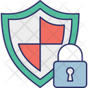 Cybersecurity Encryption Locked Icon