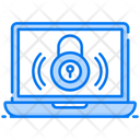 Cybersecurity Network Security Encryption Icon