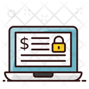 Cybersecurity Safe Banking Online Security Icon
