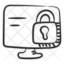 Cybersecurity Computer Security Icon