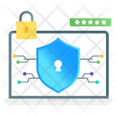 Data Encryption Cybersecurity Data Compliance Icon
