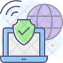 Cybersecurity Cyber Protection Internet Security Icon