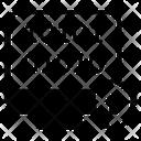 Coding Binary Language Cybersecurity Icon