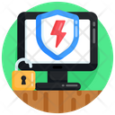 Online Security Cybersecurity Online Protection Icon