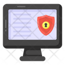 Information Security Cybersecurity Data Protection Icon