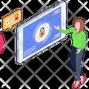 Cybersecurity Phone Lock Mobile Lock Icon
