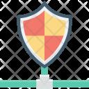 Cyberspace Firewall Global Icon