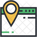 Cyberspace Map Marker Icon