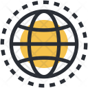 Cyberspace Globe Internet Icon