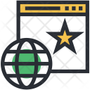 Cyberspace Star Sign Icon