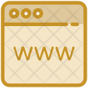 Cyberspace Internet Browser Icon