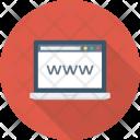Cyberspace Globe Internet Icon