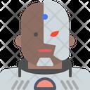 Cyborg Dccomics Hero Icon