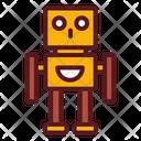 Cyborg Robot Machine Icon