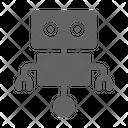 Robot Cyborg Futuristic Icon