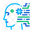 Cyborg Artificial Intelligence Icon
