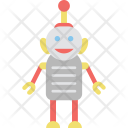 Cyborg Toy Metallic Icon