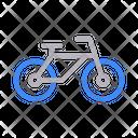 Cycle Bike Exercise Icon