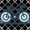 Cycle Bicycle Wheel Icon