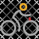 Cycle Bike Cyclist Icon
