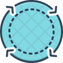 Cycle Reset Loop Icon