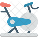 Cycle Ergometer Exercise Icon