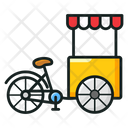 Cycle Cart Carriage Transport Icon