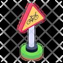 Roadboard Fingerpost Cycle Parking Icon