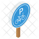 Cycle Parking Board Icon